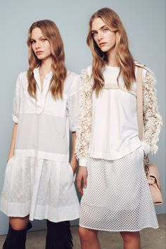 Annika Krijt and Hedvig Palm / See by Chloé Pre-Fall 2015