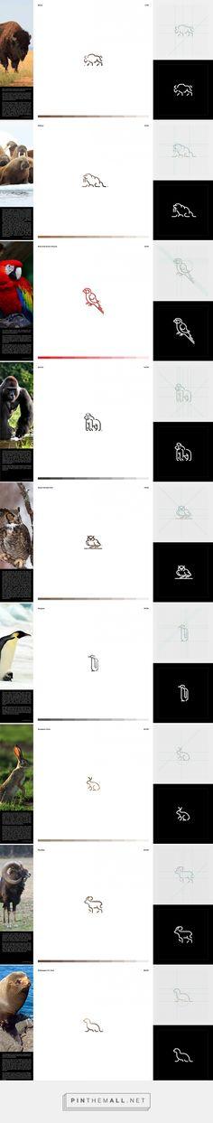 Pictograms Inspired by Animals   Abduzeedo Design Inspiration