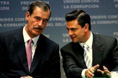 """Vicente Fox Quesada,  Asegura que PRI Encontrará """"Una Democracia Real""""    Vicente Fox cree que el nuevo gobierno del Partido Revolucionario Institucional, que encabezará @EPN a partir del 1 de diciembre, se encontrará con un México distinto, con """"una democracia y una autonomía de poderes real y una sociedad que actúa"""" http://noticias.terra.com.mx/mexico/politica/fox-asegura-que-pri-encontrara-una-democracia-real,ef28cc249f72b310VgnCLD2000000dc6eb0aRCRD.html"""