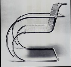 """on-chairs: """" Mies van der Rohe, MR Chair 1926 """""""