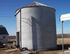 A family comes together to transform an everyday grain bin into a great new space for a Bed and Breakfast.