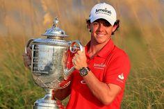 Winner of the 94. PGA Championship 2012