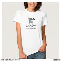 Milk Addict Tee Shirt