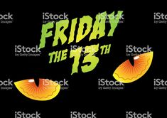 Friday the 13th - Royalty-free Friday stock vector