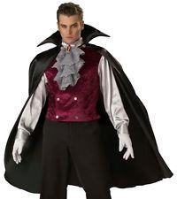 NEW Mens Count Dracula Dark Vampire Halloween Costume