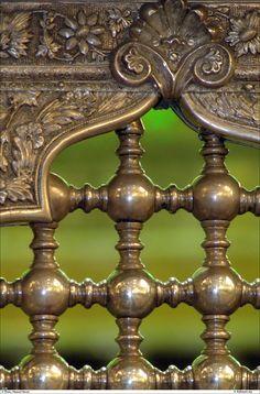 "prettymindclutter: "" Grate detail in the Imam Reza Shrine in Mashhad, Iran. Islamic Architecture, Architecture Details, Imam Reza, Imam Hussain, Imam Ali, Wrought Iron Gates, Iron Work, Garden Gates, Islamic Art"
