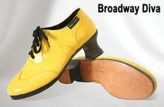 Miller & Ben Tap Shoes: Broadway Diva - Yellow