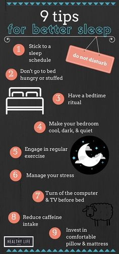 9 Tips for Better Sleep #ad - A Healthy Life For Me