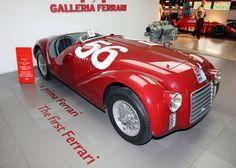 The first Ferrari, a 1947 Ferrari 125 S