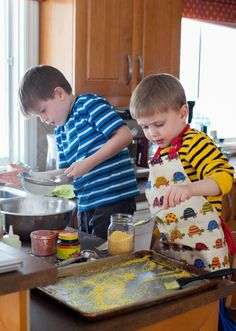 Simple Kitchen Tasks for Kids Ages 6 to 8