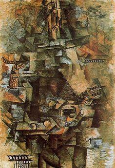 Pablo Picasso The Mandolinist 1911
