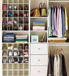 Great article regarding closet organization