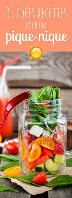 Salades, sandwiches, wraps, cakes... 35 recettes faciles pour un délicieux pique-nique !