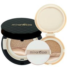 'Mirenesse Cosmetics' 10 Collagen Cushion Foundation Compact Airbrush Liquid Powder SPF25 PA   Free Refill (15g/0.52oz) - Shade 23. Mocha - AUTHENTIC -- Want additional info? Click on the image. (Note:Amazon affiliate link)