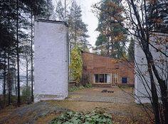 Casa Experiemental Muuratsalo Alvar Aalto.