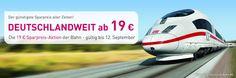 Günstige Bahn Tickets von L'TUR: Täglich neue Restplätze im gesamten deutschen…
