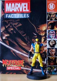 Carlos Collection: Blu ray, PS3 e Action Figures: Marvel Fact Files: Special Wolverine