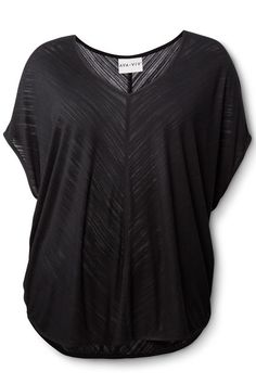 AVA & VIV Top in Black, $21.99, available at Target.