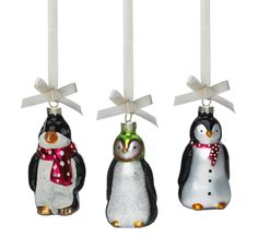Penguin Christmas ornament by Lisbeth Dahl Copenhagen Autumn/Winter 13. #LisbethDahlCph #Magical #Christmas #Penguin #Ornament