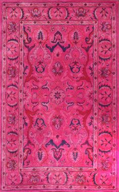 Rugs USA Overdye RE31 Pink Rug