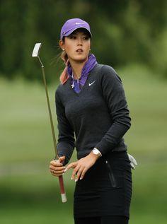 Michelle Wie - Wegmans LPGA Championship - Round Two  Nice sweater