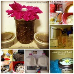 Top Homemade Bath and Body Wash and Scrub Recipes