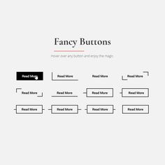 Fancy Button Hover Effects: Fancy Button Hover Effects Coding Buttons CSS Hover HTML Resource Responsive Snippets Transition Web Design Web Development Free Web Design, Web Design Tips, Web Design Trends, Web Design Company, Web Design Layouts, Design Websites, App Design, Ui Buttons, Fancy Buttons