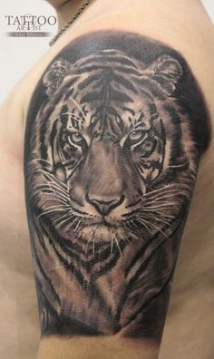татуировки Tiger Head Tattoo, Tiger Tattoo Design, Tattoo Designs, Shark Tattoos, Cool Arm Tattoos, Sleeve Tattoos, Hannya Mask Tattoo, Celtic Knot Tattoo, Tatuagem Old School