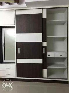 Wardrobe Laminate Design, Wall Wardrobe Design, Wardrobe Interior Design, Wardrobe Door Designs, Bedroom Closet Design, Bedroom Furniture Design, Bedroom Wardrobe, Modern Bedroom Design, Closet Designs