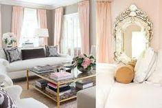 light, champagne pink bedroom