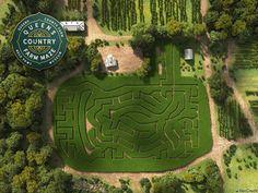 Adventure Farm, Starbucks Locations, Birds Eye View Map, Corn Maze, United States Map, Garden Photos, Source Of Inspiration, Home Repair, Archipelago