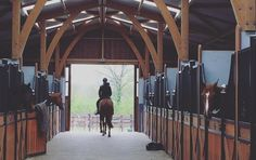 Equestrian Style Around the Barn in France - Stable Style