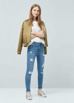 Jeans pour Femme | MANGO France