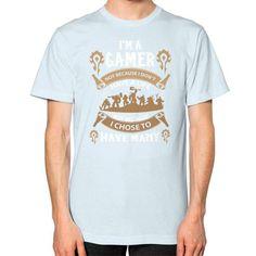 Apparels limitedwc Unisex T-Shirt (on man)