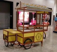 Bicycle Cart, Bicycle Shop, Food Truck, Bussines Ideas, Bike Food, Bike Shelf, Bike Trailer, Food Stall, Cargo Bike