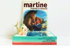 French Vintage Children's Book  Martine rides a by LAtelierDeNanaH #martinebook #frenchbook #childbook #kidsbook #livremartine #70s