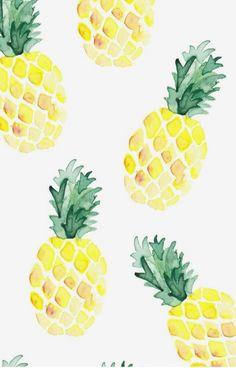 +de 29 Modelos de Papel de Parede para Celular Abacaxi tipo tumblr, você vai amar! Escolha o seu!