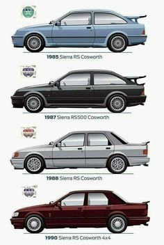 Ford Sport, Ford Rs, Car Ford, Ford Mustang Classic, Ford Classic Cars, Mercedes Sl500, Classic European Cars, Ford Sierra, Custom Muscle Cars