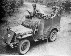 82nd Recon Armored Radio Jeep