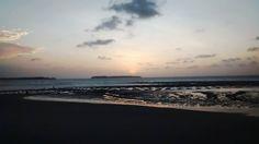 O Infinito! Vista do Espigão da Ponta da Areia (São Luis ). Créditos:Jennifer Sá.