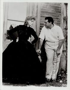 Greta Garbo & George Cukor