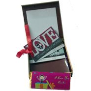 Personalized  Love  Coupons  with  gift  Box for Personalized Gifts