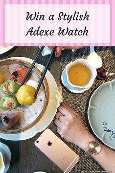 An Elegant Rose Gold watch by Adexe - Eat Cook Explore
