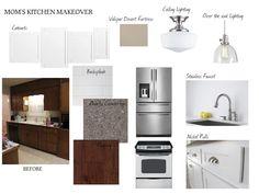 White kitchen moodboard: House of Hydrangeas