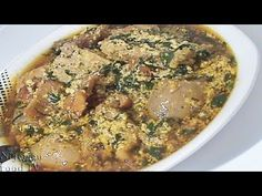 How to Cook Okazi Soup / Ukazi Soup (Igbo style Afang Soup) | Nigerian Food Recipes