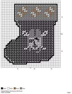 oakland raiders made pattern 23 Plastic Canvas Coasters, Plastic Canvas Ornaments, Plastic Canvas Christmas, Plastic Canvas Crafts, Plastic Canvas Patterns, Crochet Skull Patterns, Beading Patterns, Cross Stitch Patterns, Football Crafts