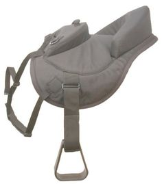 Ride - Behind Tandem Saddle for Western Saddle by JT. $63.80. This saddle addition is constructed of tough cordura nylon over shock absorbing foam with rigid thick foam padded cantle . The ride-behind tandem attaches firmly to the back of most western saddles. Complete with stirrups and adjustable nylon leathers. Nylon straps on these will provide handles.. Save 27% Off!