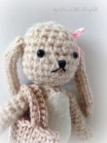 One Little Ragdoll: Ohjeet [Patterns] Crochet Stitch, Free Crochet, Crochet Hats, Double Crochet, Crochet Patterns, Teddy Bear, Beige, Toys, Crafts