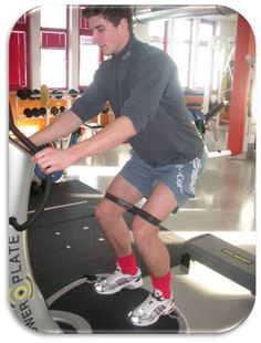 Jan Mauersberger del Bayern Munich entrenando con Power Plate!