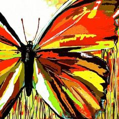 Butterflies Are Red:Saundramylesart